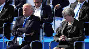 In NATO Speech, Trump Scolds Leaders But Doesn't Recommit To Defense Pledge