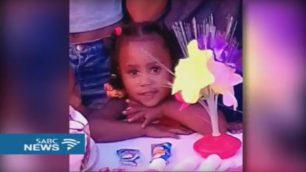 A photo of Courtney Pieters. The 3-year-old was missing for 9 days, then found in a shallow grave about two-thirds of a mile from her home. She had been raped twice.