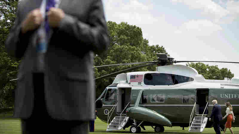 As Trump Lifestyle Takes Toll On Secret Service, Lawmakers Try To Give Extra Support
