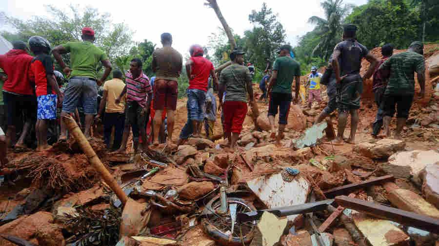 Monsoon-Triggered Mudslides, Floods In Sri Lanka Kill More Than 90 People