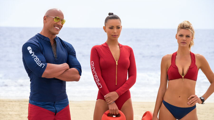 Beaches, Bathing Suits, And Finally On The Big Screen, 'Baywatch' : NPR