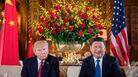 President Trump sits with Chinese President Xi Jinping during at Mar-a-Lago in Palm Beach, Fla., in April.