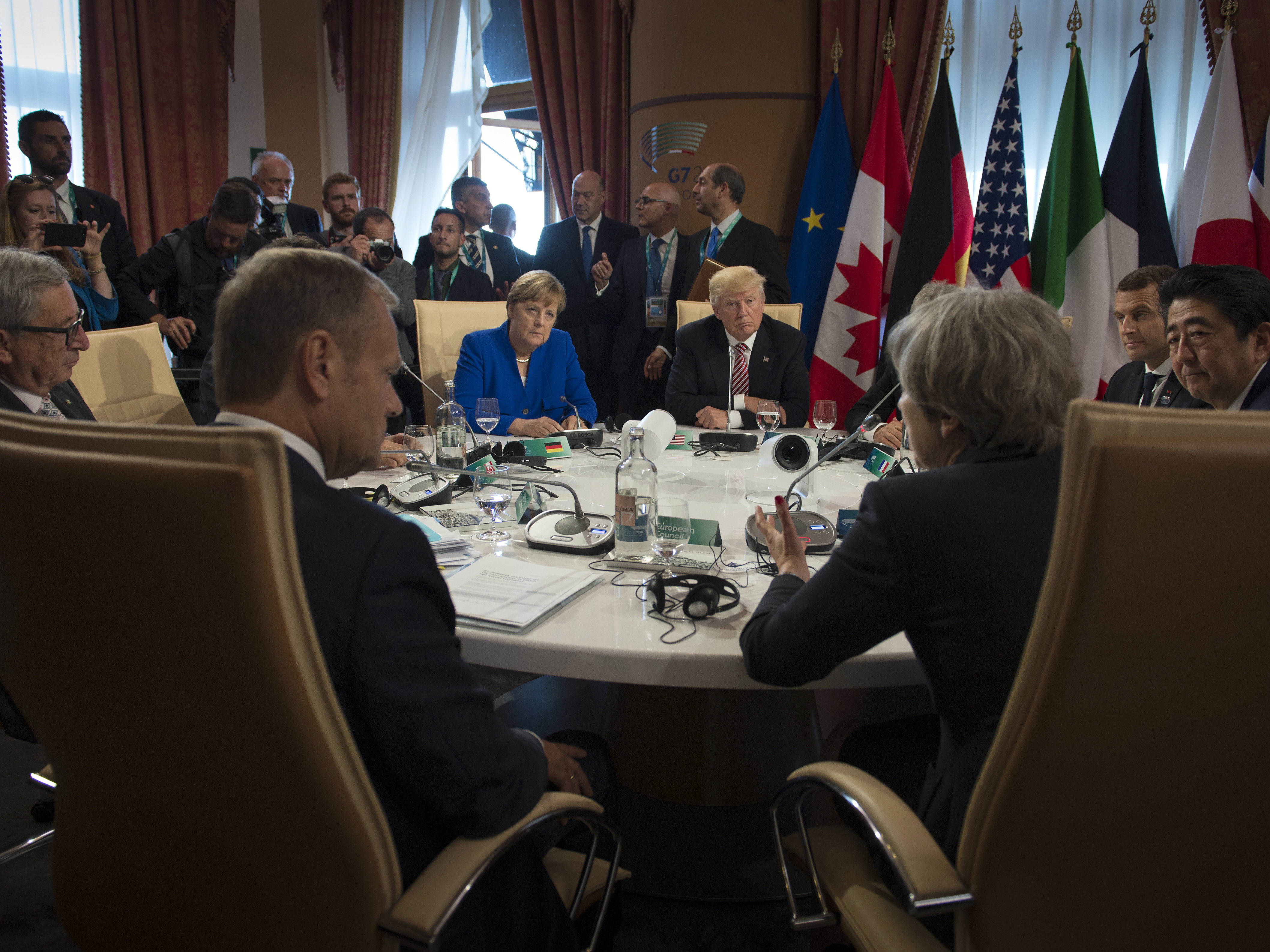 G7 to acknowledge climate deadlock with US