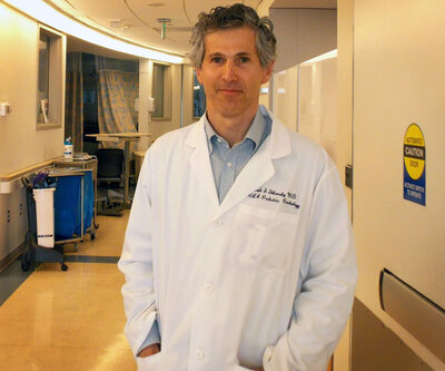 photo of Mark Sklansky, a pediatric cardiologist