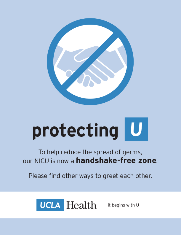 Handshake-Free Zones Target Spread Of Germs In The Hospital