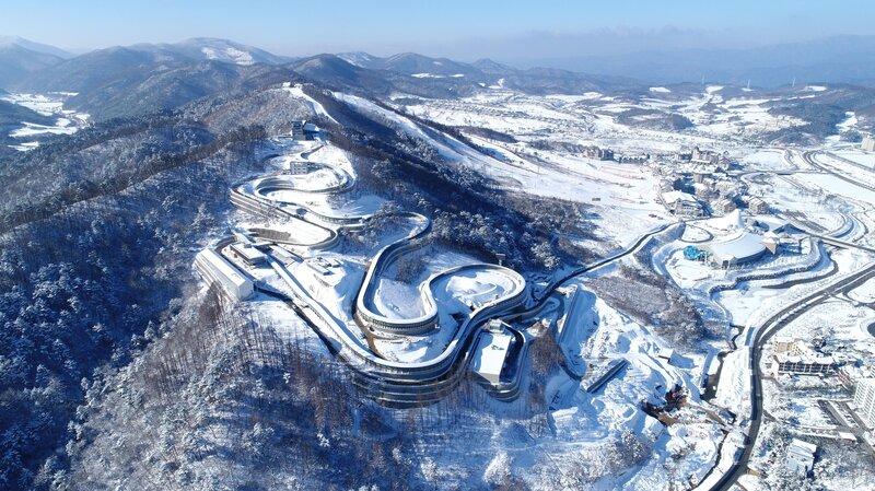 In South Korea Pyeongchang Readies To Host 2018 Winter Olympics
