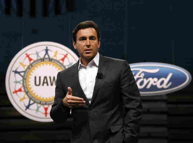 Former Ford Motor Company President and CEO Mark Fields. Ford replaced Fields as it struggles to keep its traditional auto-manufacturing business running smoothly while remaking itself as a nimble, high-tech provider of new mobility services.
