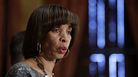 Mayor Catherine Pugh speaks at a news conference at City Hall in Baltimore on April 4.