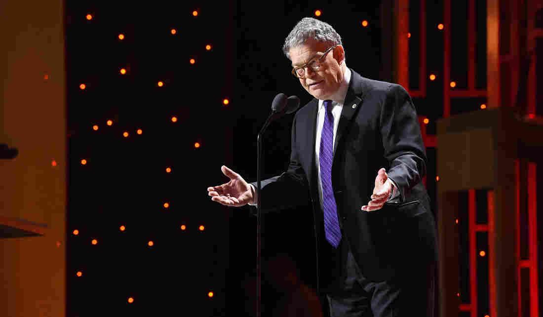 Sen. Al Franken Embraces 'The Funny' Again In New Book