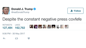 'Covfefe' Kerfuffle: Trump's Typo Sparks A Search For Meaning, And Humor