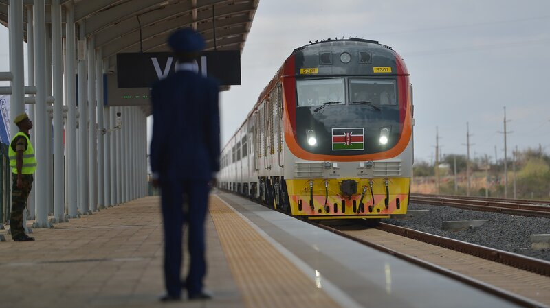 kenyans cheer opening of mombasa nairobi railway the two way npr