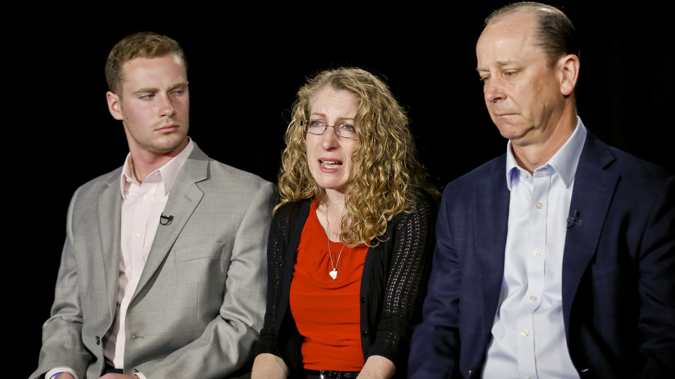 Penn State student Tim Piazza died after being put through a fraternity hazing ritual. His brother Michael, mother Evelyn and father James hope his death sparks some change on college campuses. (Bebeto Matthews/AP)