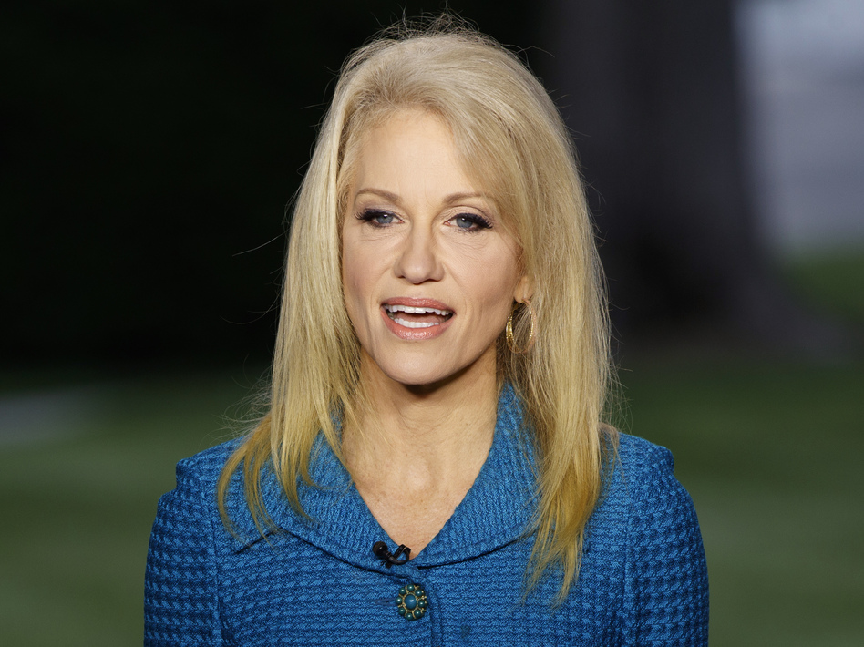 The White House released ethics waivers for ex-lobbyists and numerous others who have joined the government. The White House granted 14 waivers, including one for Kellyanne Conway. (Evan Vucci/AP)