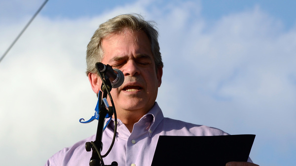 Mayor of Austin, Texas, Steve Adler responded to a shrill letter writer on his website today. Above, Adler during the 2017 SXSW Conference in March.