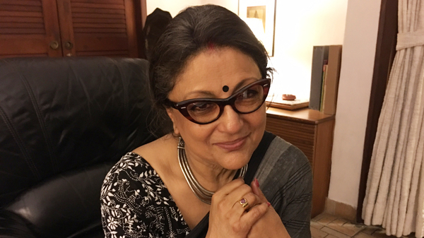"""Sonata Director Aparna Sen is a veteran of the small, artistic cinema. She says while mainstream films often  """"commodify"""" women, """"the good news is that many different films are now being made about women"""" and by women  who are starting their own production companies."""