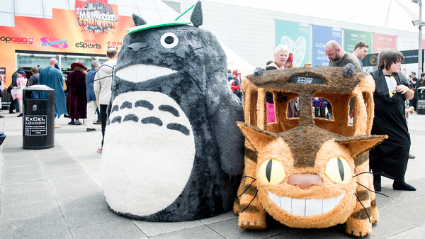 Totoro and the Catbus, the forest king
