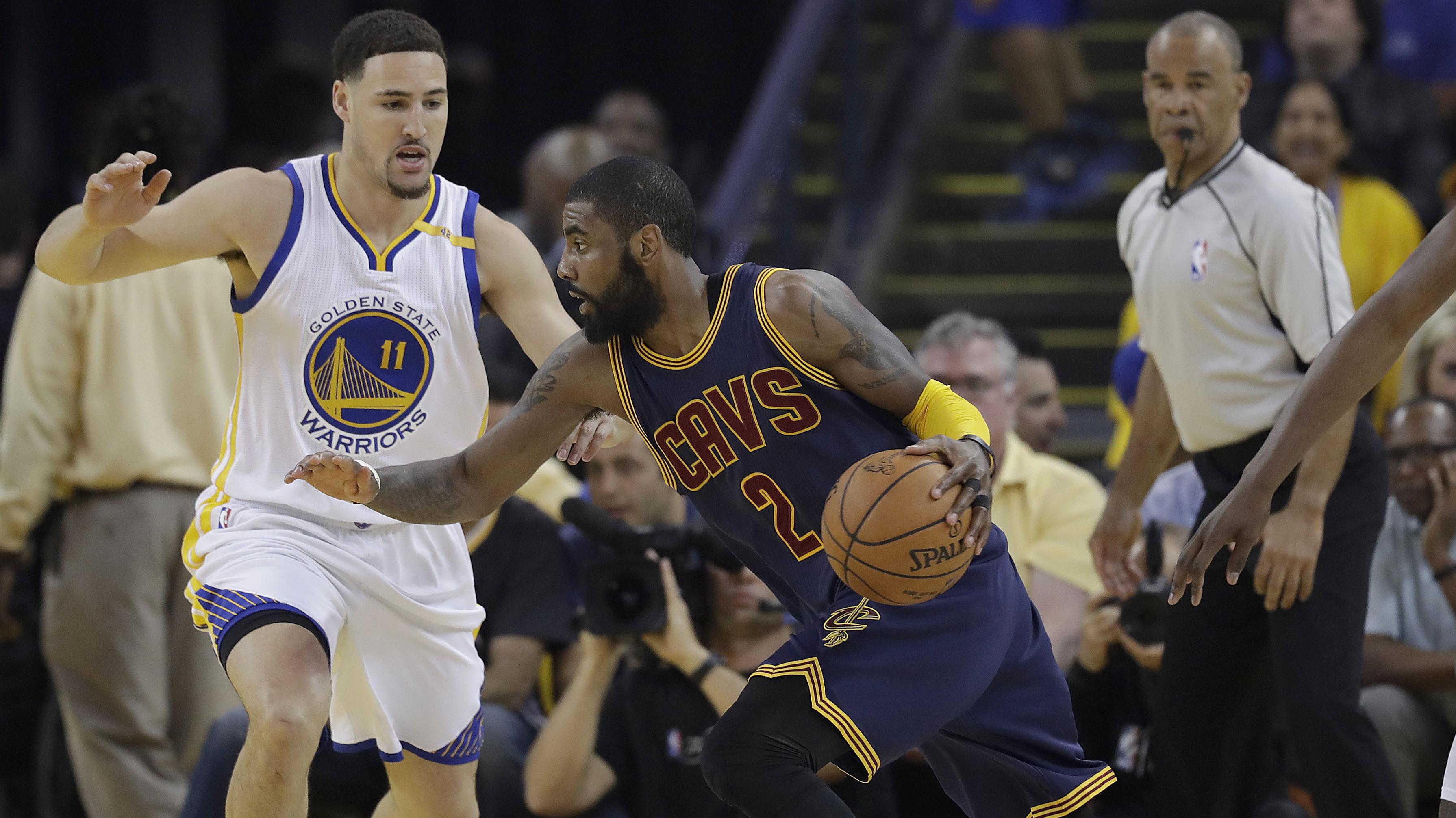 2017 NBA Finals: Cleveland Cavaliers-Golden State Warriors ...