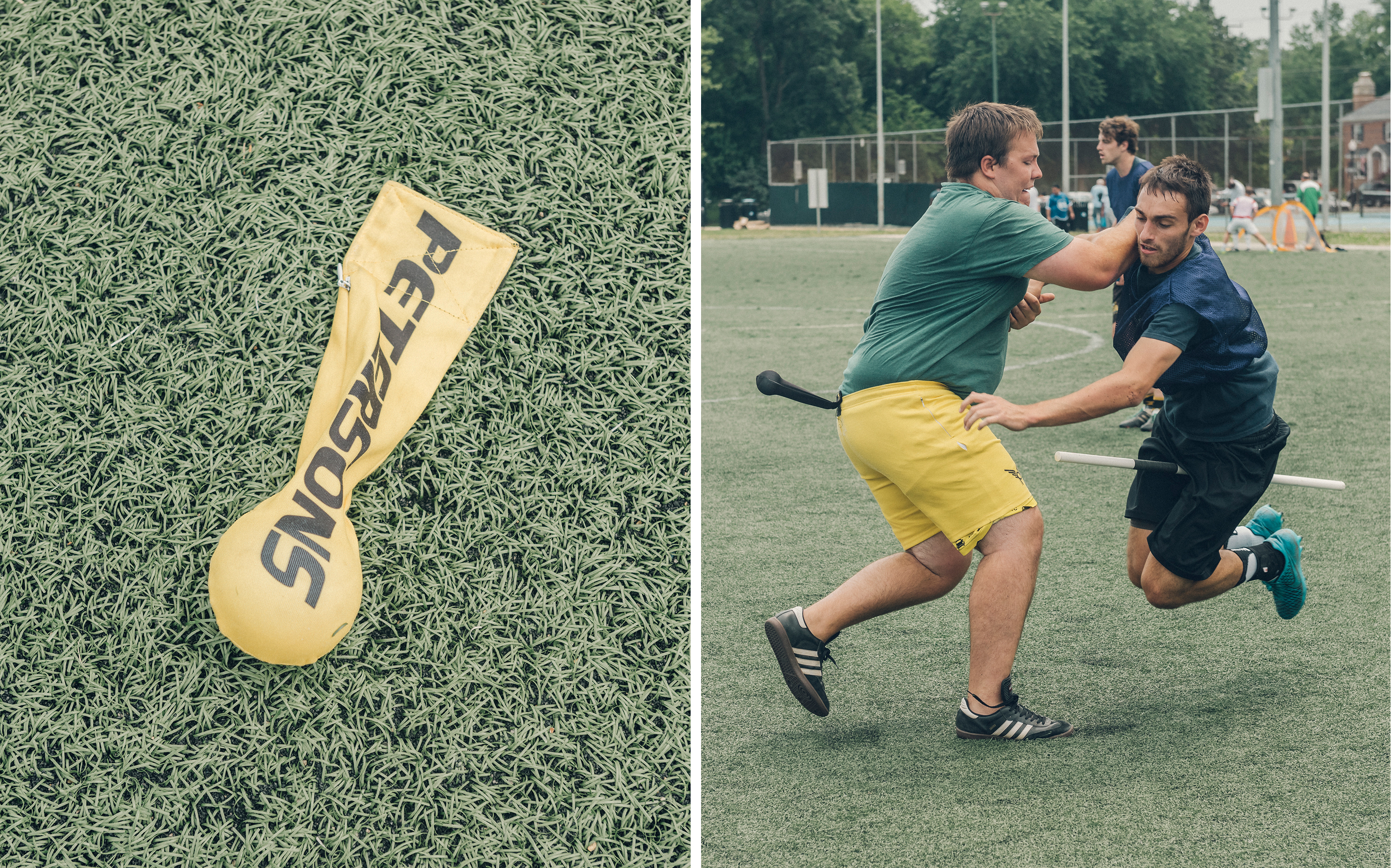 Quidditch balls and positions for sexual health