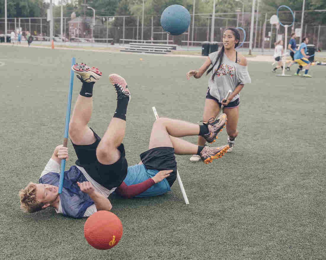 There May Not Be Flying, But Quidditch Still Creates Magic