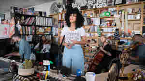 Violents & Monica Martin: Tiny Desk Concert