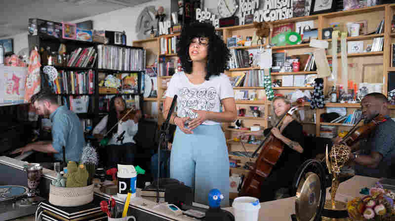 Violents & Monica Martin: Tiny Desk Concert