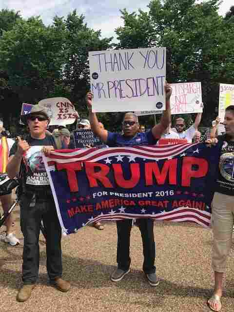 March For Truth Protesters Demand Independent Russia Investigation