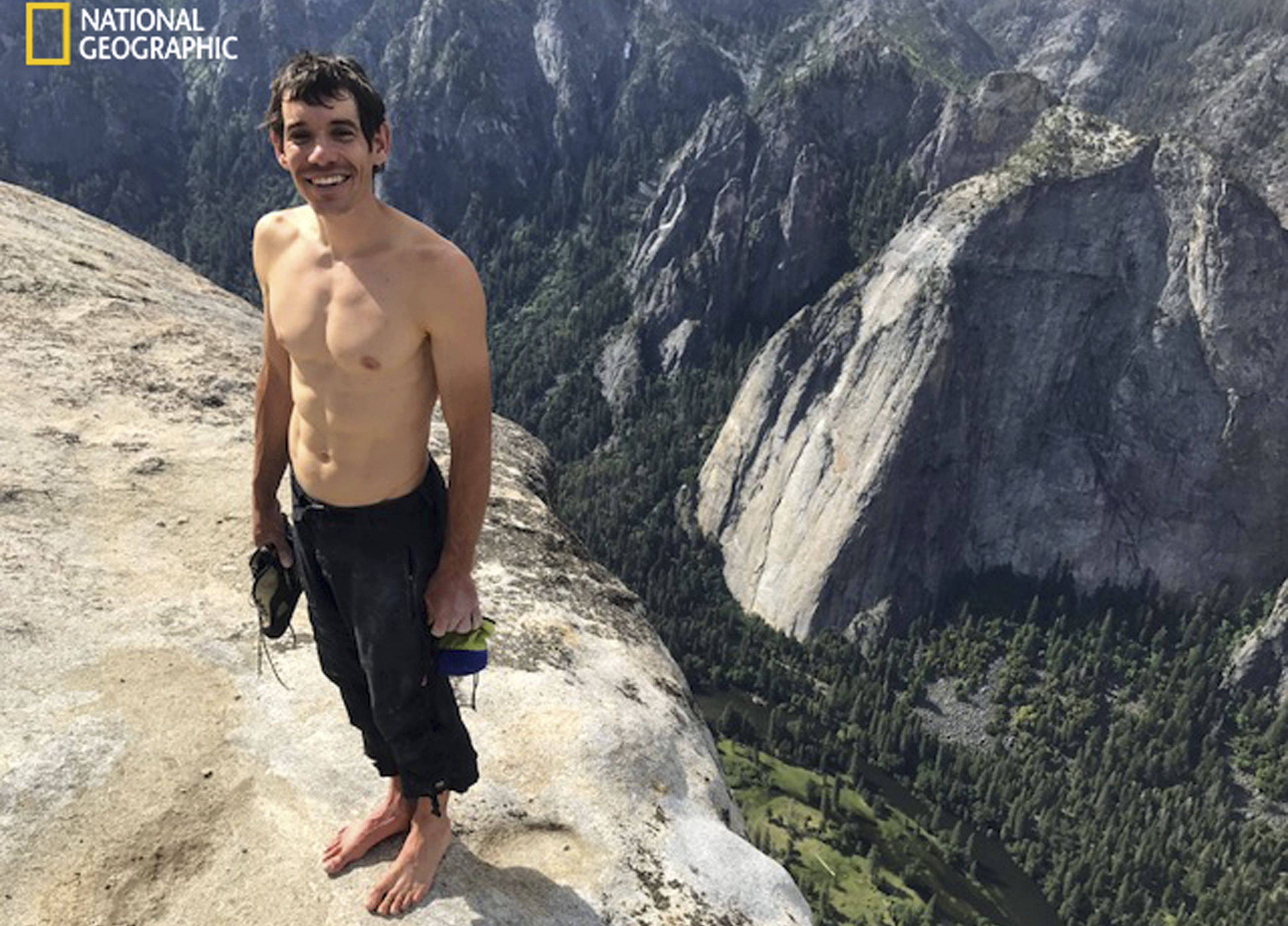 Solo climber is 1st up mighty El Capitan without ropes