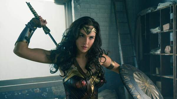 Gal Gadot plays the titular superhero in Wonder Woman, which just broke the opening-weekend domestic box office record for a film directed by a woman.