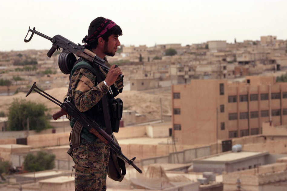 Fighters from the Syrian Democratic Forces and other U.S.-backed troops have been preparing to take control of Raqqa for months. (AP)