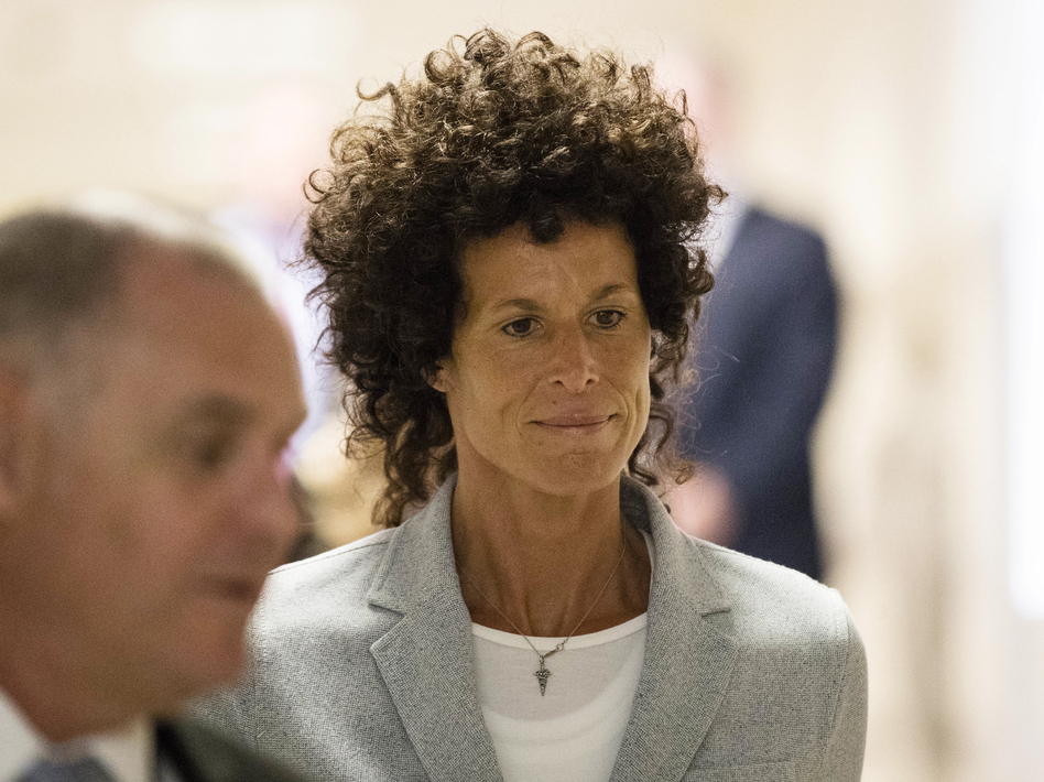Andrea Constand walks to the courtroom during Bill Cosby's sexual assault trial in Norristown, Pa., on Tuesday. Cosby is accused of drugging and sexually assaulting Constand at his home outside Philadelphia in 2004. (Matt Rourke/AP)