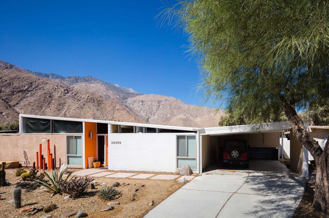 William Krisel Modernist Tract House Palm Springs
