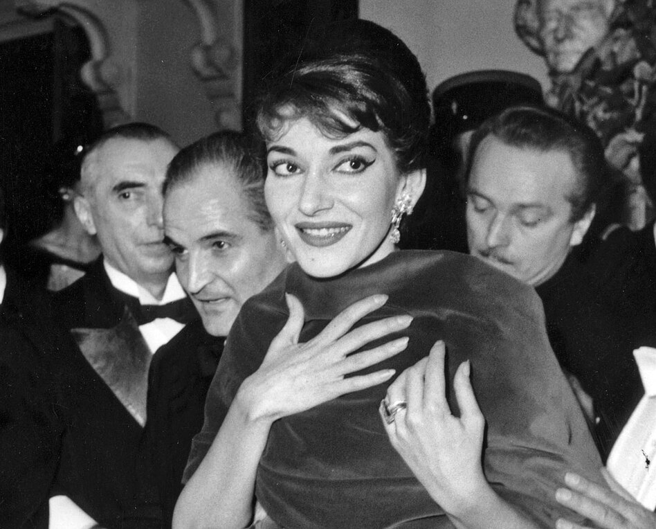 Soprano Maria Callas at the Paris Opera in 1958. She is the subject of a new book, <em>Maria by Callas</em>. (RDA/Getty Images)