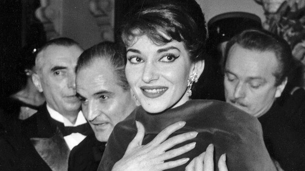 Soprano Maria Callas at the Paris Opera in 1958. She is the subject of a new book, Maria by Callas.