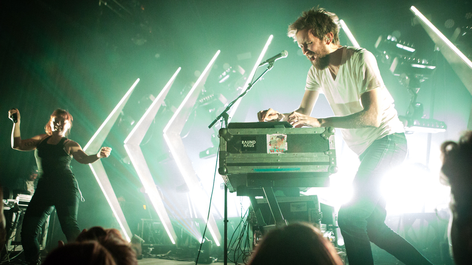 Sylvan Esso performed back-to-back sold-out shows at Union Transfer in Philadelphia, Pa., in May.