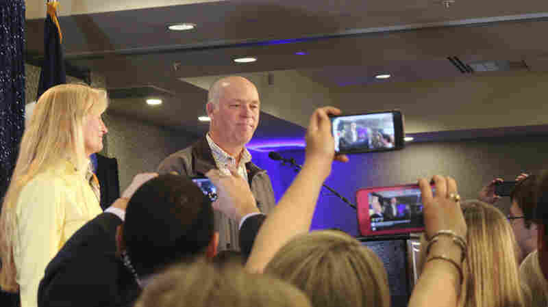 Congressman-Elect, Sorry He Hit Reporter, Promises Donation To Charity