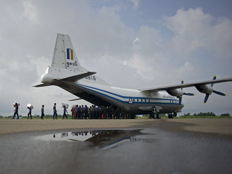 Bodies And Debris Found From Missing Myanmar Military Plane