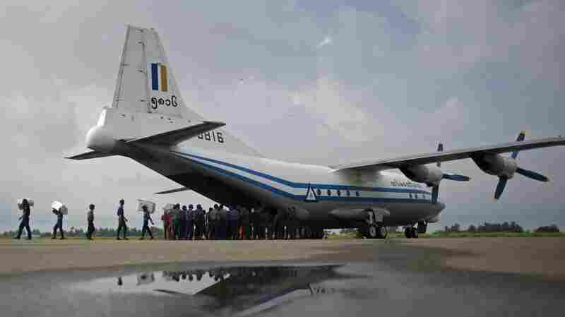 Bodies And Debris Found From Missing Myanmar Military Plane, Officials Say