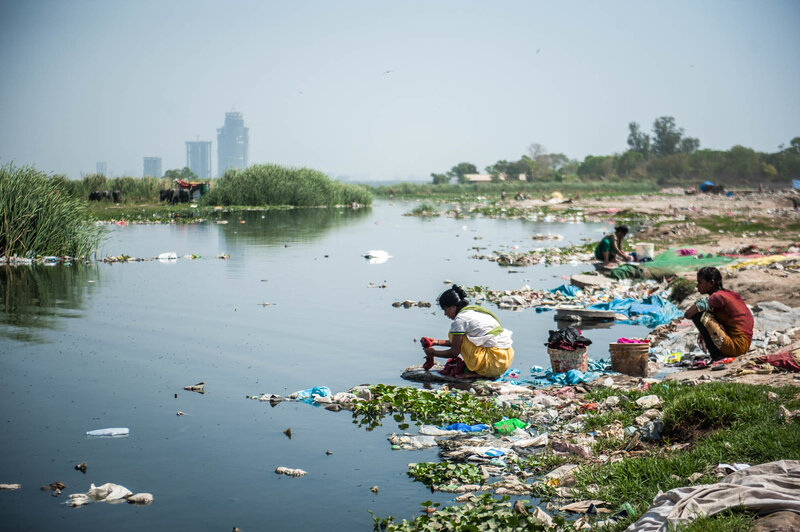 Image result for dirty water india