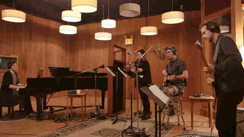 Watch Sufjan Stevens, Nico Muhly And Bryce Dessner Play 'Planetarium' Track 'Mercury'