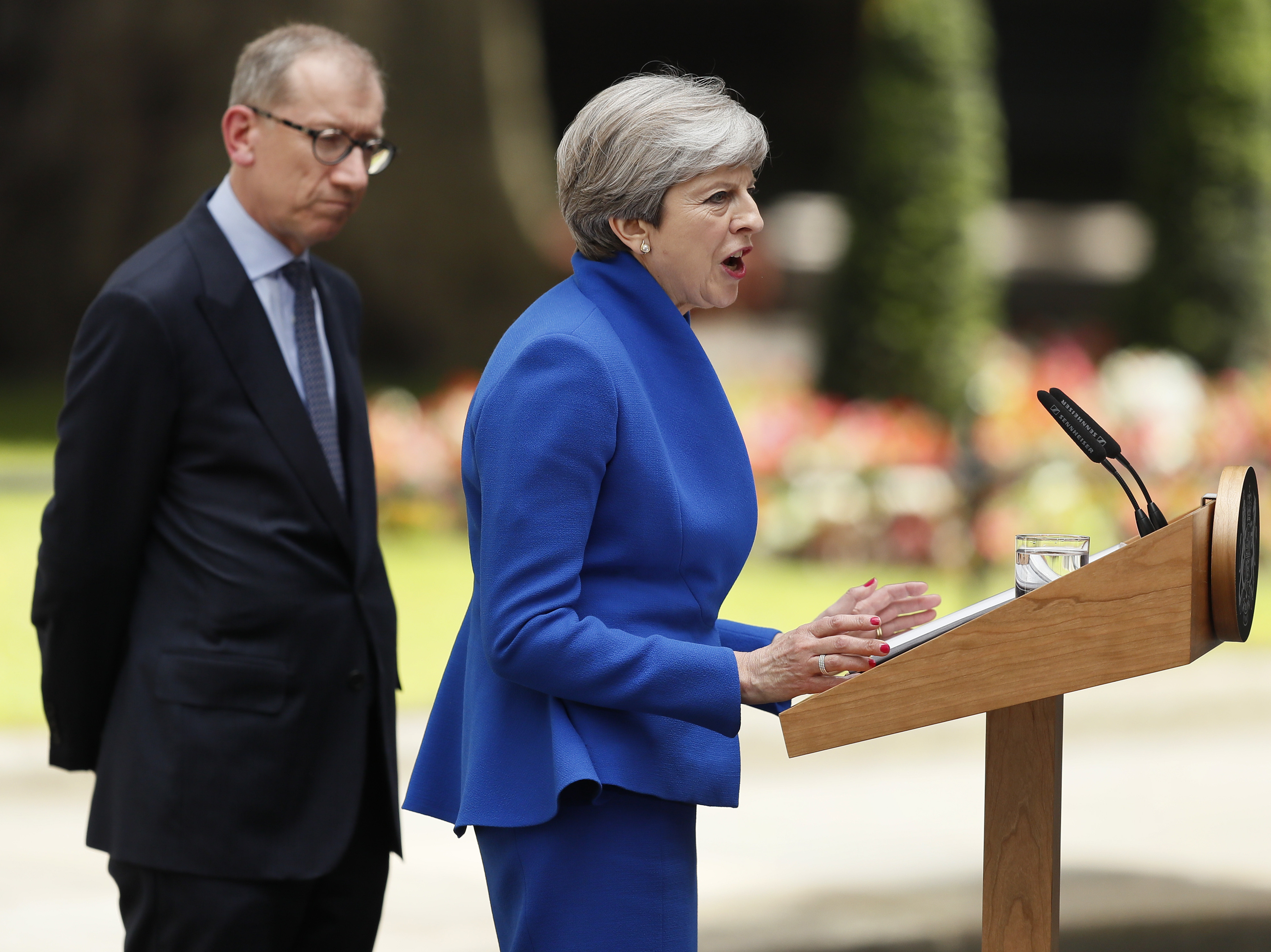 May faces calls to resign as election hangs in balance
