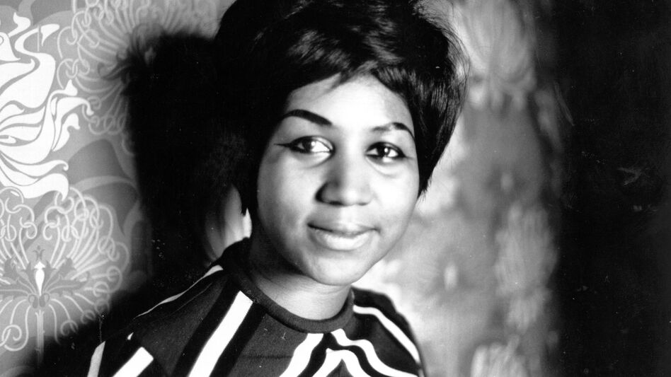 Aretha Franklin, pictured in 1968, has died. Known as the Queen of Soul, she recorded 17 top 10 singles. (Express Newspapers/Getty Images)