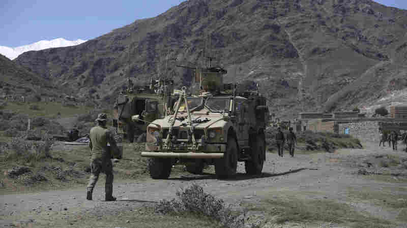 Trump Gives Mattis Authority To Set U.S. Troop Levels In Afghanistan