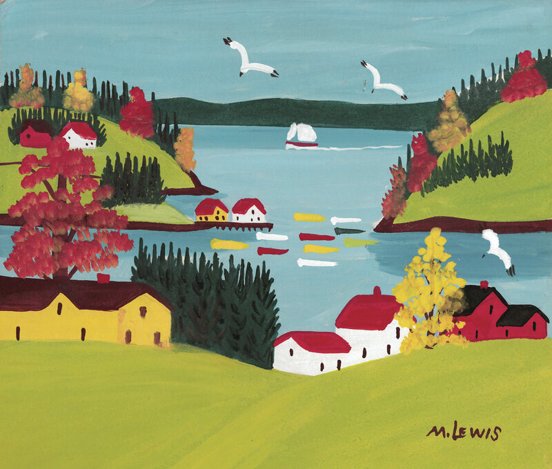 Home Is Where The Art Unlikely Story Of Folk Artist Maud Lewis