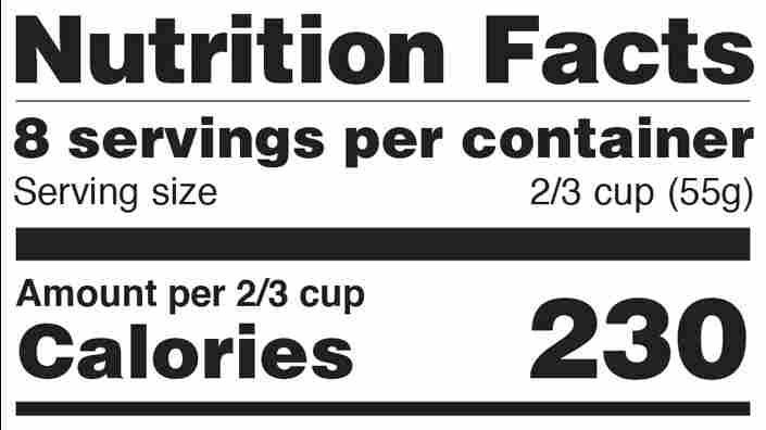 Trump Administration Gives Industry More Time to Adopt New Nutrition Fact Label