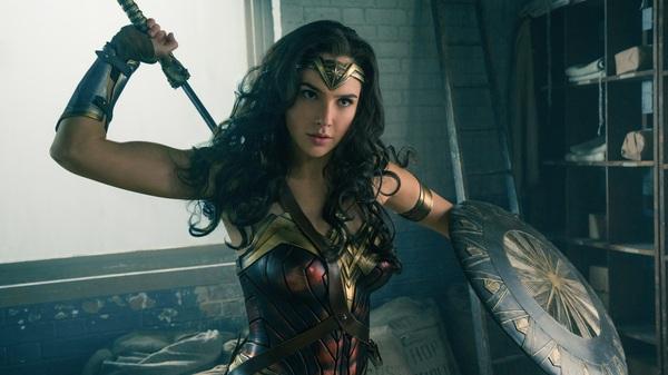 Gal Gadot stars in Wonder Woman.