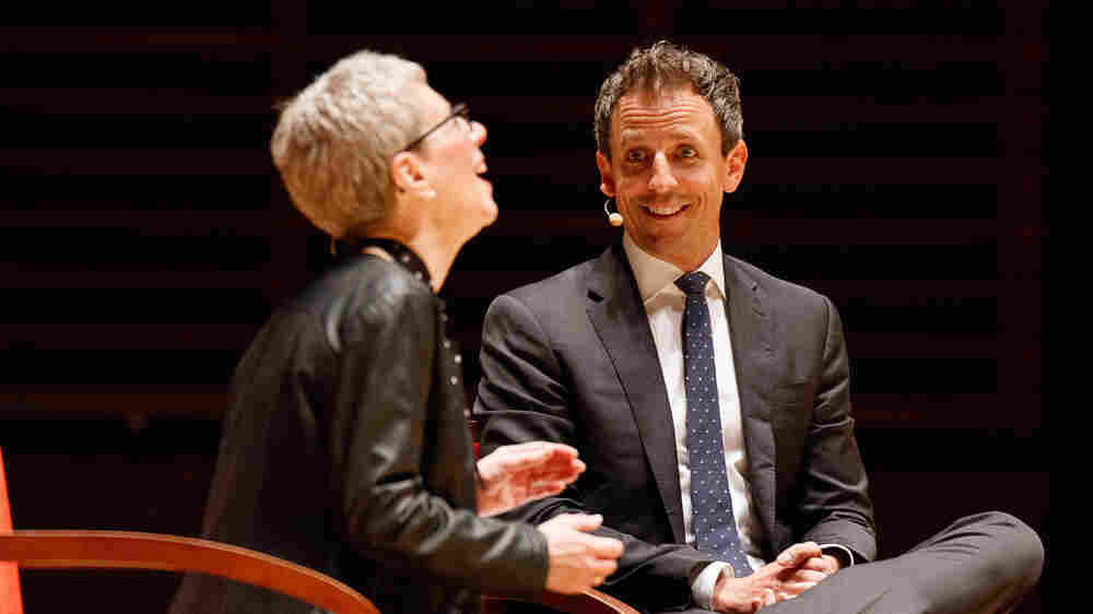 For Our 30th Anniversary, Fresh Air Tapes Live With Seth Meyers Of 'Late Night'