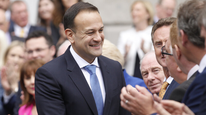 b8e8251cd Ireland s First Openly Gay Prime Minister Formally Takes Office