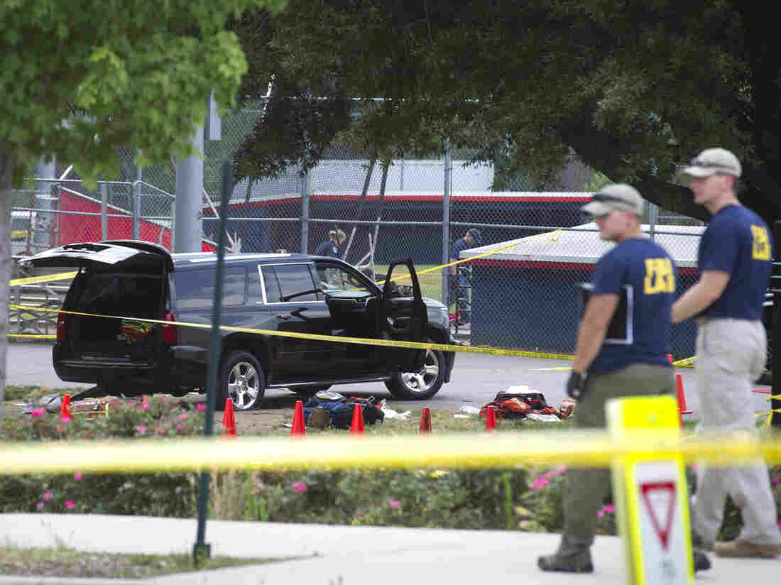 US politician shot at baseball practice in critical condition after surgery