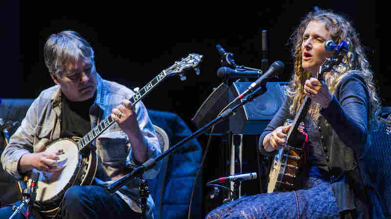 Béla Fleck & Abigail Washburn On Mountain Stage