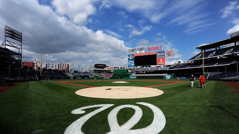 Nationals Park in Washington, where the Congressional Baseball Game is scheduled to take place Thursday, a day after Rep. Steve Scalise and four others were shot during practice Wednesday. (Patrick McDermott/Getty Images)